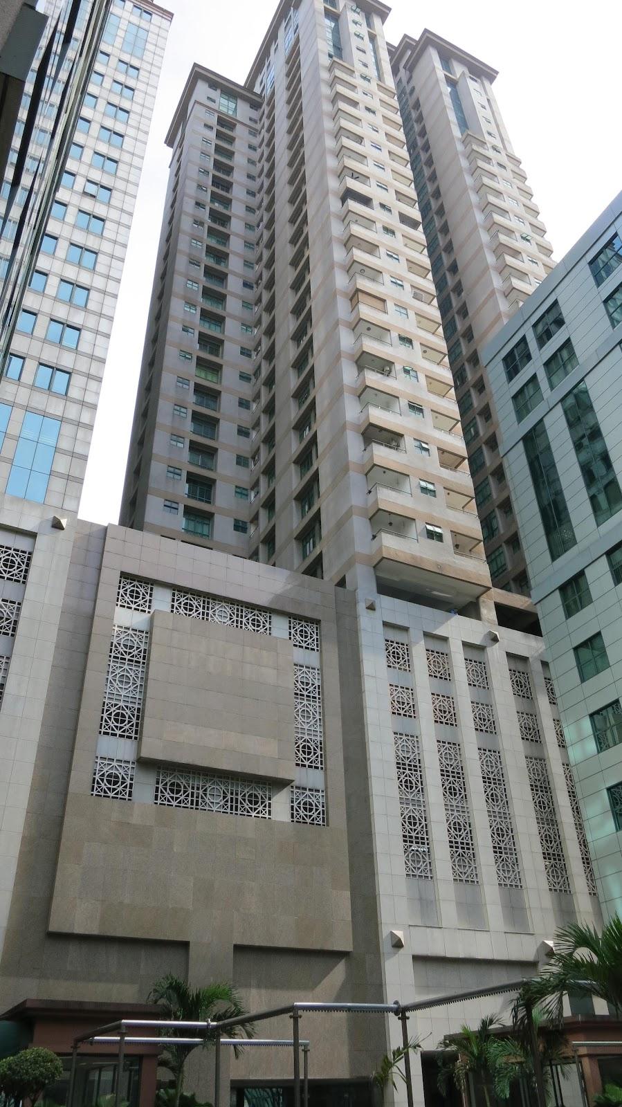 Tampak Depan Apartemen